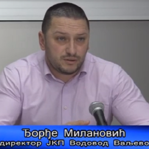 "Direktor Milanović – Uspešna godina za ""JKP Vodovod Valjevo"" – VTV Valjevo"