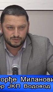 Direktor Milanović – Radovi u Novom naselju – VTV Valjevo